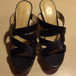 Ivanka Trump Shoes - Wedge sandals by Ivanka Trump
